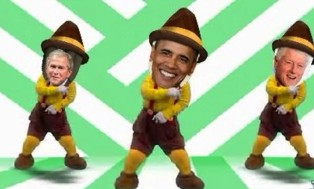 I will create a fun Happy Holidays Dancing Elf Video