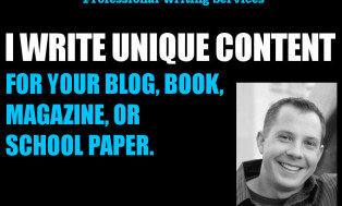 I will write 300 words of SEO optimized, unique content