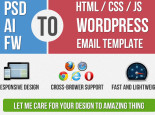 I will convert PSD to Html / Html5 And Psd to WordPress
